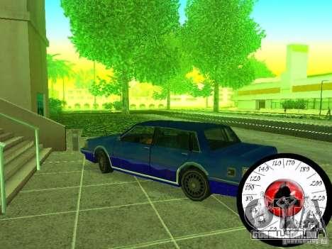 Nova Cpidometr para GTA San Andreas por diante tela