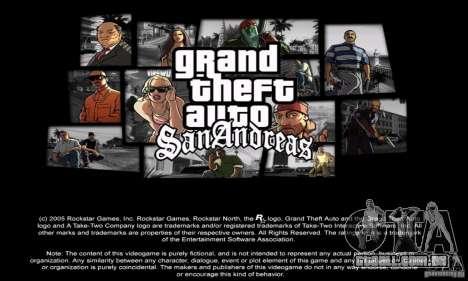 Loadscreens in GTA-IV Style para GTA San Andreas por diante tela
