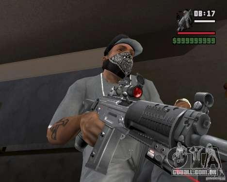 Mira a laser rifle para GTA San Andreas