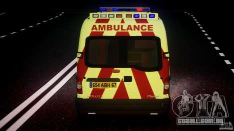 Renault Master 2007 Ambulance Scottish [ELS] para GTA 4 rodas