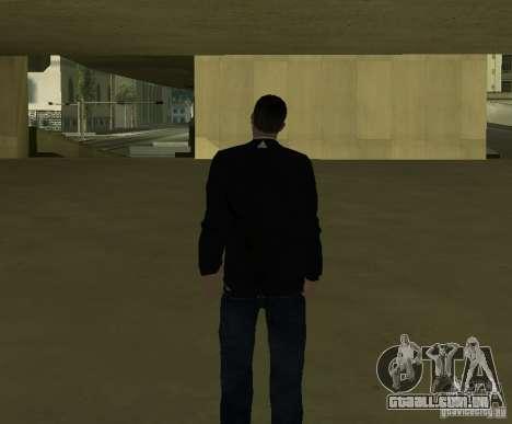 Repórter italiano para GTA San Andreas por diante tela