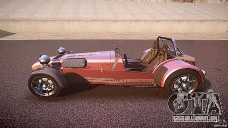 Caterham Superlight R500 [BETA] para GTA 4 esquerda vista