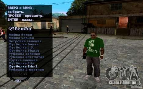 CJ novo para GTA San Andreas sétima tela