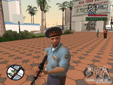 Policiais para GTA San Andreas segunda tela