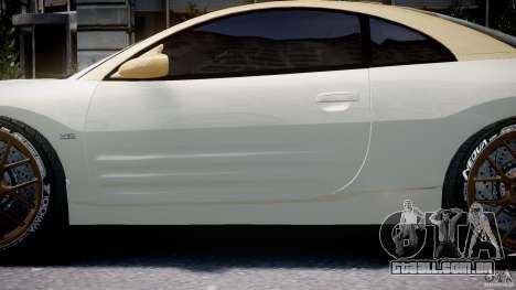 Mitsubishi Eclipse GTS Coupe para GTA 4 vista inferior