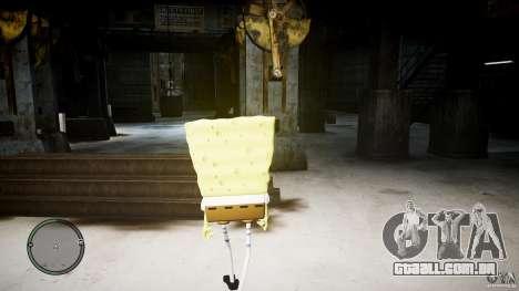 Bob Esponja para GTA 4 por diante tela