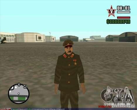 Stalin para GTA San Andreas segunda tela