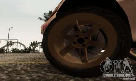 Toyota Corolla AE86 para GTA San Andreas vista traseira