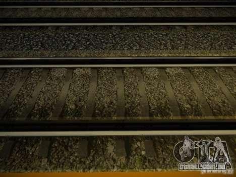 Novos trilhos para GTA San Andreas segunda tela