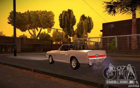 ENBSeries v. 1.0 por GAZelist para GTA San Andreas quinto tela