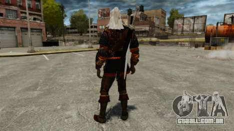 Geralt de Rivia v4 para GTA 4 terceira tela
