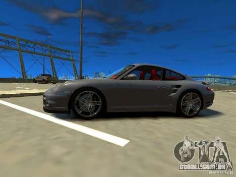 Porsche 997 Turbo para GTA 4 esquerda vista
