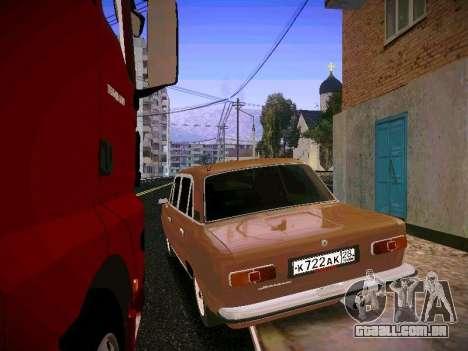 VAZ 21011 para GTA San Andreas traseira esquerda vista