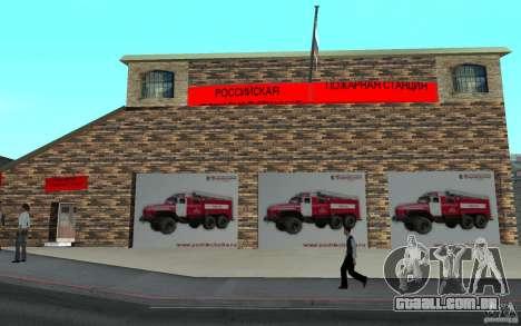 Estação de fogo russa em San Fierro para GTA San Andreas