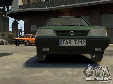 FSO Polonez para GTA 4 vista superior