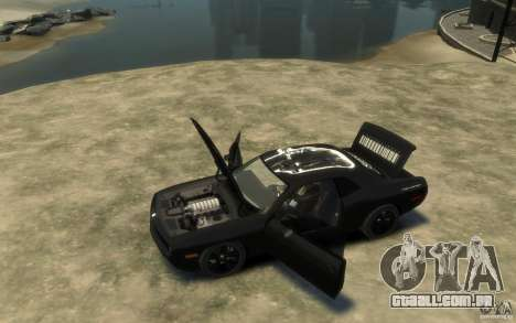 Dodge Challenger Concept Slipknot Edition para GTA 4 esquerda vista