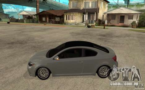 Scion tC - Stock para GTA San Andreas esquerda vista