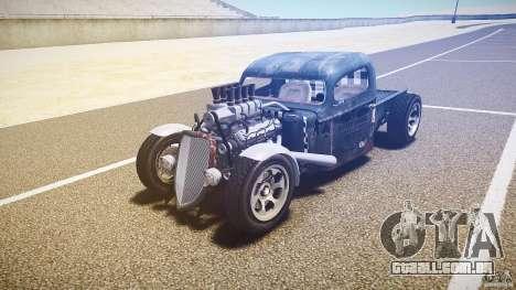 Ford Ratrod 1936 para GTA 4 vista de volta
