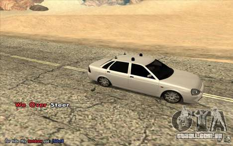 Lada Priora Final Tuning para GTA San Andreas