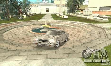 Plymouth Roadrunner 383 para vista lateral GTA San Andreas