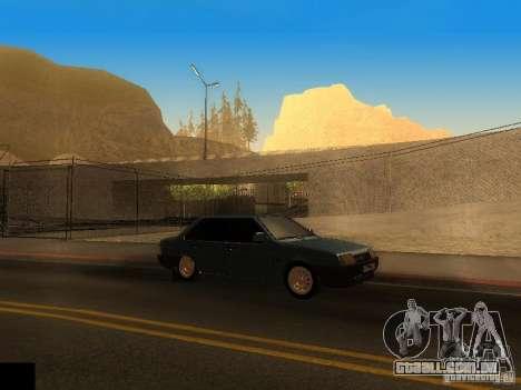 ENB project by jeka para GTA San Andreas segunda tela