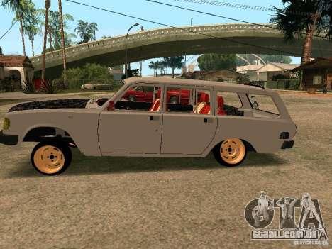 GAZ Volga 310221 para GTA San Andreas esquerda vista