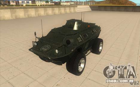APCS do GTA TBOGT 4 Original com textura para GTA San Andreas
