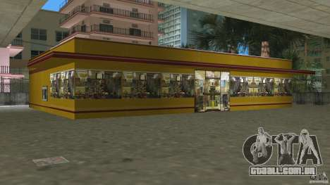Shell Station para GTA Vice City por diante tela
