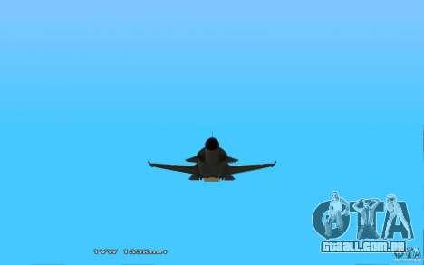 Águia dourada de Su-32 para GTA San Andreas vista direita