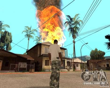 Tornado para GTA San Andreas sexta tela