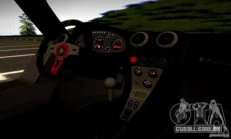 Gumpert Apollo para GTA San Andreas traseira esquerda vista