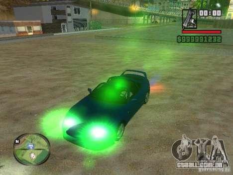 Xenon v3.0 para GTA San Andreas terceira tela