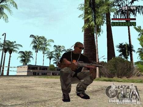Lançador de granadas para GTA San Andreas