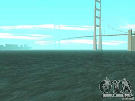 Água nova para GTA San Andreas