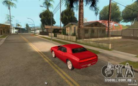 Life para GTA San Andreas nono tela
