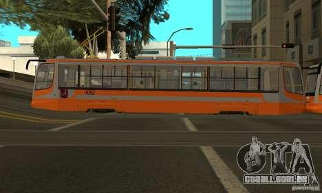 Eléctrico 71-623 para GTA San Andreas vista direita