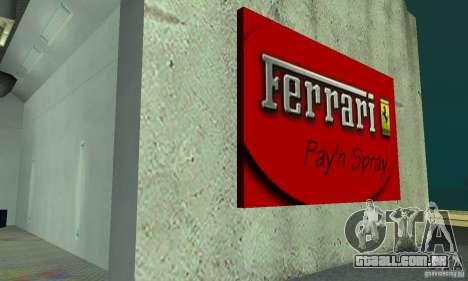 Ferrari, Lamborghini, Porsche Car Showroom para GTA San Andreas terceira tela