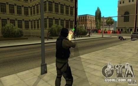 Forças especiais-CJ para GTA San Andreas oitavo tela