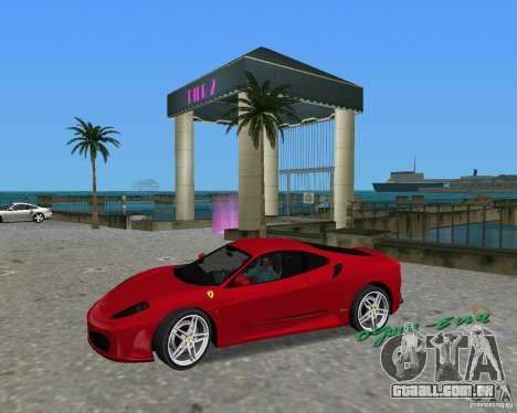 Ferrari F430 para GTA Vice City vista direita