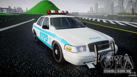 Ford Crown Victoria 2003 v.2 Police para GTA 4 vista de volta