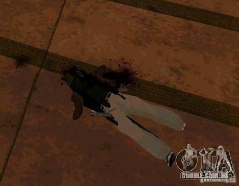 Animações de recrutamento de GTA IV para GTA San Andreas por diante tela