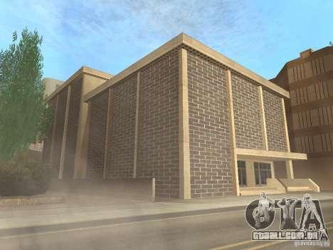 Novo centro de texturas Los Santos para GTA San Andreas oitavo tela