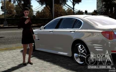 Telas de menu e arranque BMW HAMANN no GTA 4 para GTA San Andreas oitavo tela