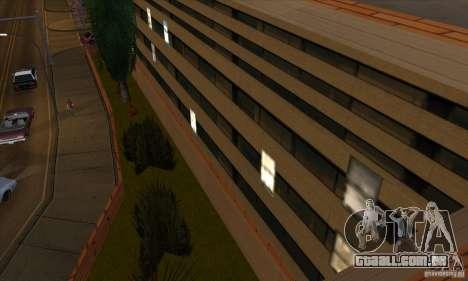 O novo hospital em HP para GTA San Andreas por diante tela
