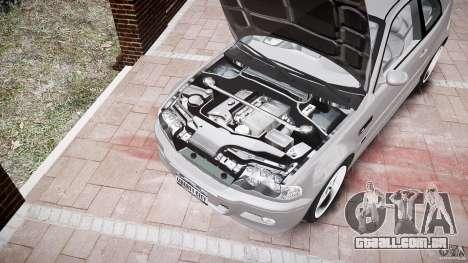 BMW M3 e46 v1.1 para GTA 4 interior