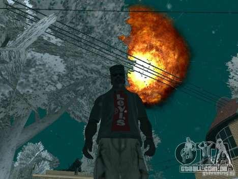 Salut v1 para GTA San Andreas segunda tela