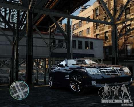 2007 Chrysler Crossfire para GTA 4 esquerda vista