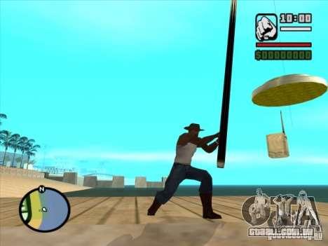 Pesca para GTA San Andreas segunda tela
