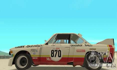BMW 3.0 CSL Schnitzer 1975 Batmobile para GTA San Andreas
