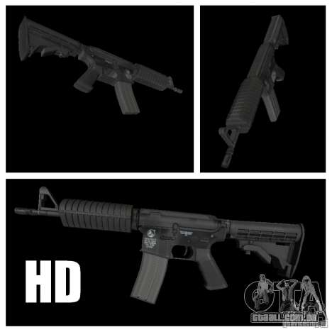 M4 HD para GTA San Andreas